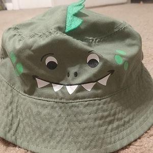 Size 2-4t dino bucket hat worn 1X